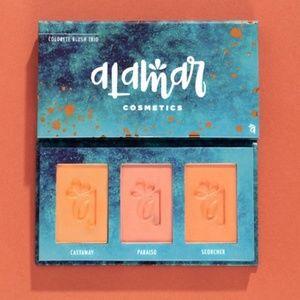 Alamar colorette blush/bronzer trio